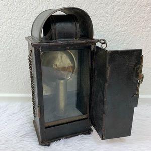 Other - RARE Antique German Carbide Box Lantern Railroad